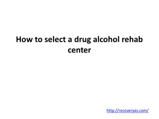 Drug Alcohol Rehab