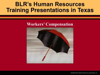 BLR�s Human Resources  Training Presentations in Texas