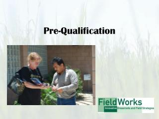 Pre-Qualification