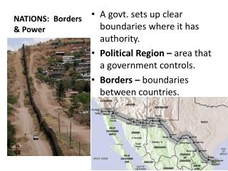 NATIONS:  Borders & Power