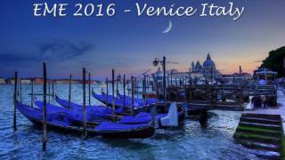 EME 2016 –  Venice Italy
