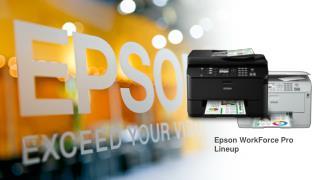 Epson WorkForce Pro Lineup