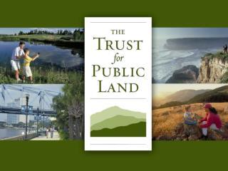 Winning Land Conservation Ballot Measures Will Abberger October 22, 2009