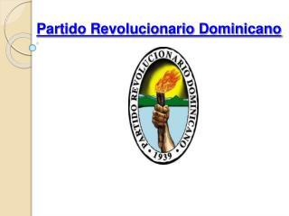 Partido Revolucionario Dominicano