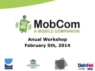 Anual Workshop February 5th, 2014