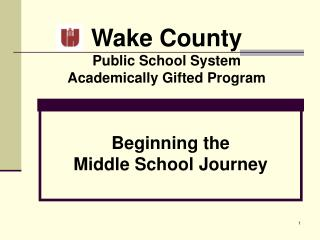 Wake County Public School System Academically Gifted Program