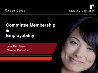 Committee Membership & Employability