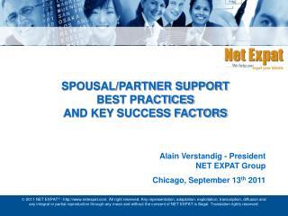 Spousal/Partner Support Best  Practices  and  Key Success Factors