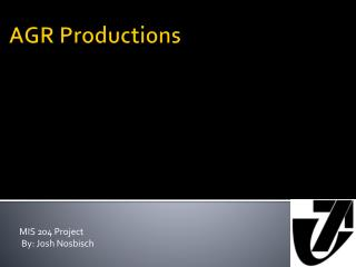 AGR Productions