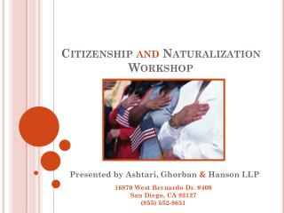 Citizenship  and  Naturalization Workshop