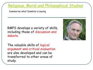 Religious, Moral and Philosophical Studies