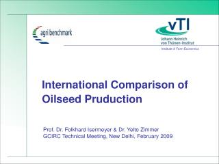 International Comparison of  Oilseed Pruduction