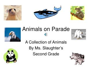 Animals on Parade