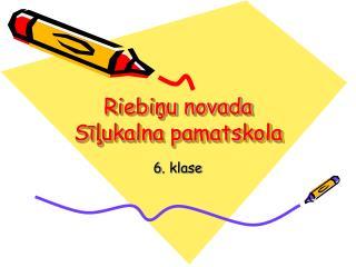 Riebiņu novada Sīļukalna pamatskola