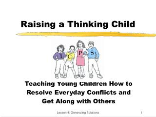 Raising a Thinking Child