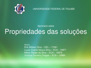 UNIVERSIDADE FEDERAL DE ITAJUB�