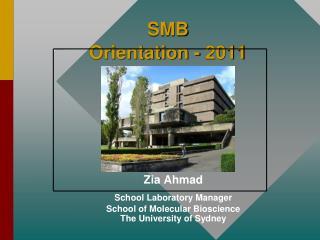 SMB Orientation - 2011
