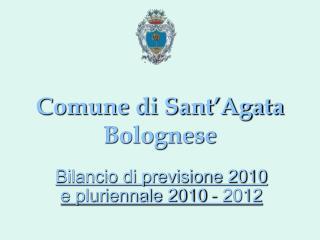 Comune di Sant�Agata Bolognese