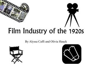 Film Industry of the 1920s