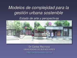 Modelos de complejidad para la gestión urbana sostenible Estado de arte y perspectivas