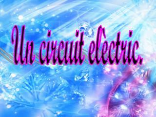 Un circuit elèctric.
