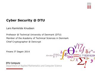 Cyber Security @ DTU