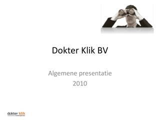 Dokter Klik BV