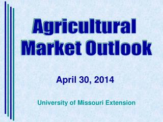 Agricultural  Market Outlook
