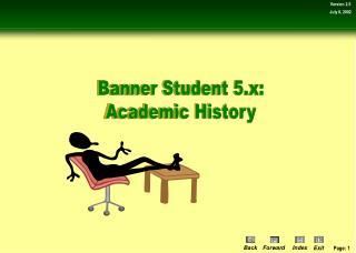 Banner Student 5.x: Academic History