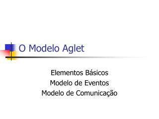 O Modelo Aglet