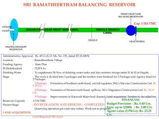 SRI  RAMATHEERTHAM BALANCING  RESERVOIR