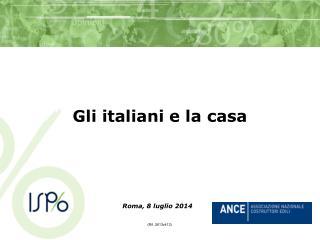 Roma, 8 luglio 2014