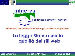 La legge Stanca per la qualità dei siti web
