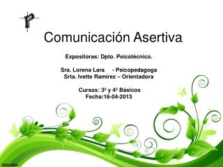 Comunicaci�n Asertiva