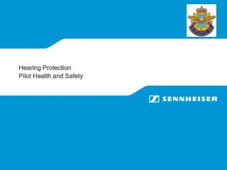 Hearing Protection Pilot Health and Safety