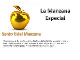 La  Manzana Especial