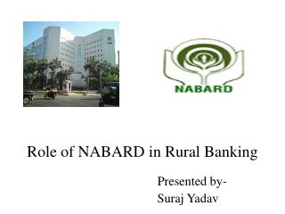 Role of NABARD in Rural Banking
