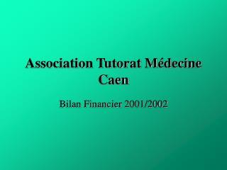 Association Tutorat Médecine Caen