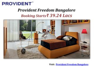 Freedom By Provident New Launch 3 BHK