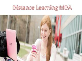 Distance Learning MBA Management Courses in Delhi NCR