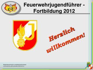 Feuerwehrjugendführer -   Fortbildung  2012