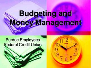 Budgeting and Money Management
