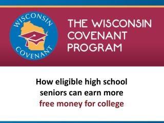 How eligible high school seniors can earn more  free money for college