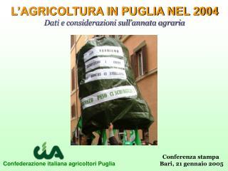 Confederazione italiana agricoltori Puglia