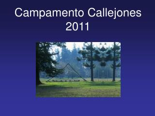 Campamento Callejones 2011