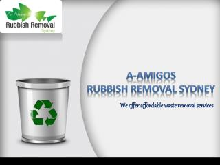 Hire the best waste removal company for the best service