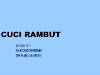 CUCI RAMBUT