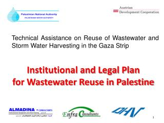 Institutional and Legal Plan  for Wastewater Reuse in Palestine