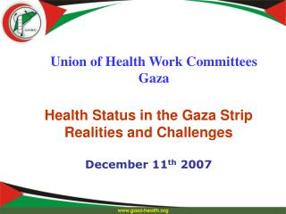 Union of Health Work Committees Gaza
