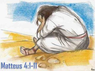 Matteus 4:1-11